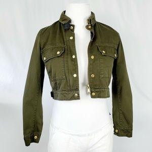 TopShop Women's Cropped Jacket C1326